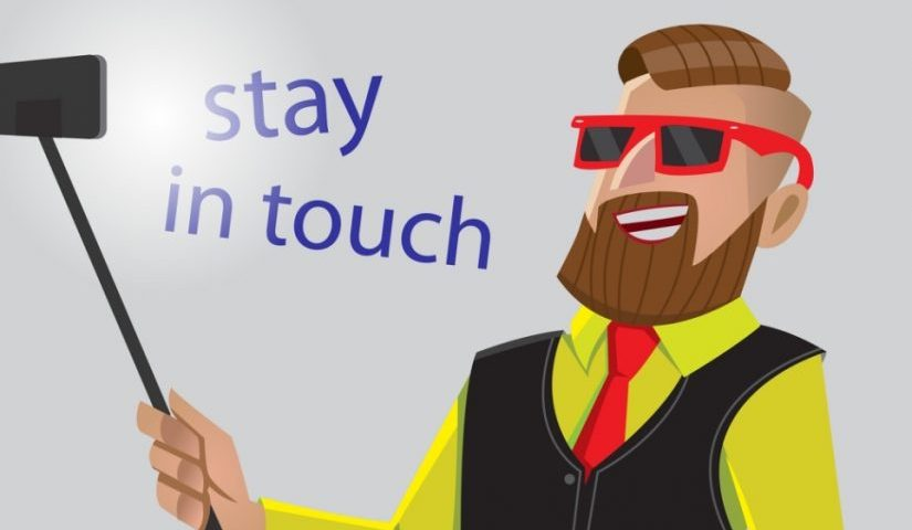 Stay in touch with your customers