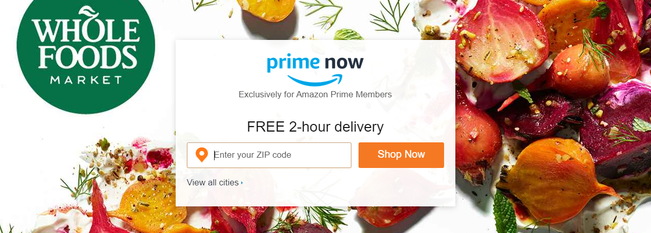 Same day grocery delivery ecommerce business