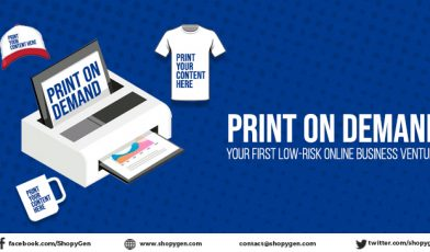 Print on demand business